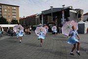 Havířov v květech 2015. Vystoupení polských mažoretek.