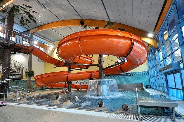 Aquacentrum vBohumíně vpondělí otvírá, ale má prázdninový režim.
