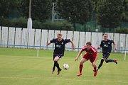 Dětmarovice (v modrém) - Šenov 0:0.
