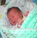 Vojta se narodil 8. listopadu mamince Žanetě Blahouškové z Karviné. Po narození dítě vážilo 3330 g a měřilo 48 cm.