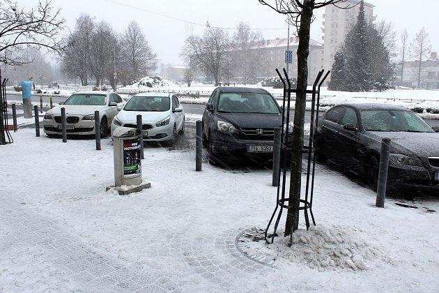 Chytré parkoviště v centru Havířova má problémy s počty.