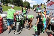 Sobotní tréninkové jízdy Havířovského zlatého kahance 2017.