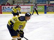 Havířovští hokejisté (v modrém) ztratili vedení 4:1.