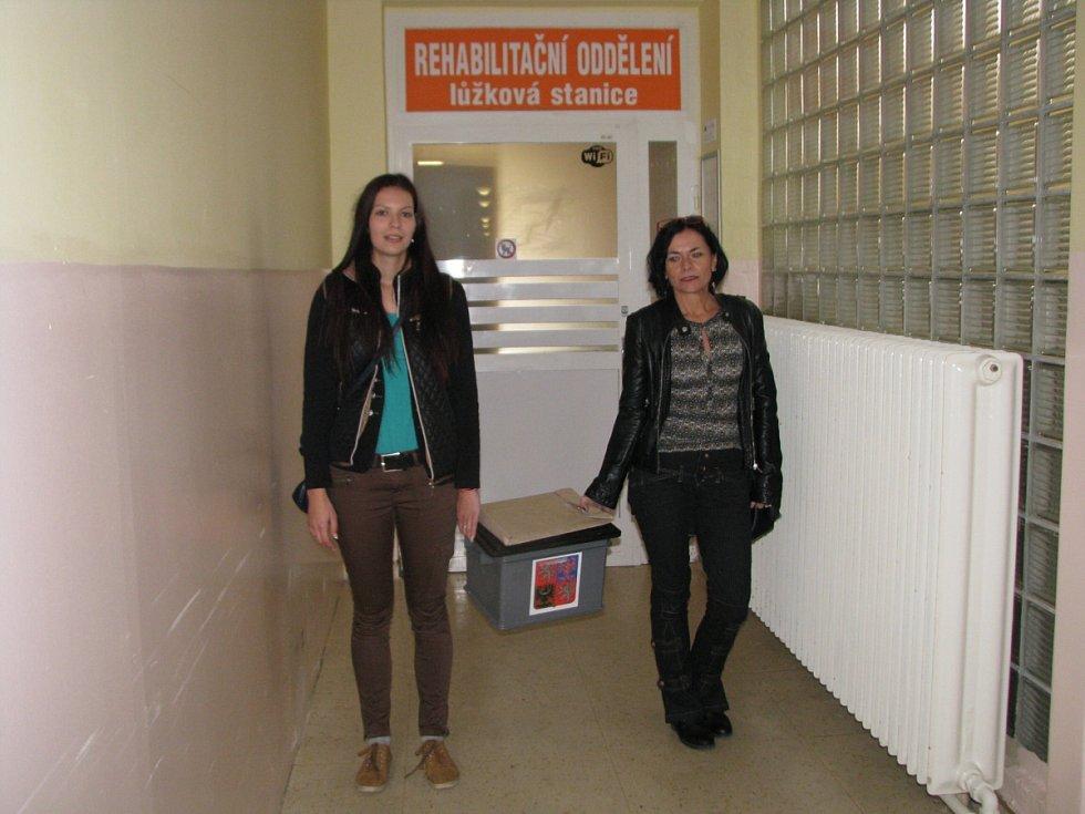Volby 2016 v havířovské nemocnici.