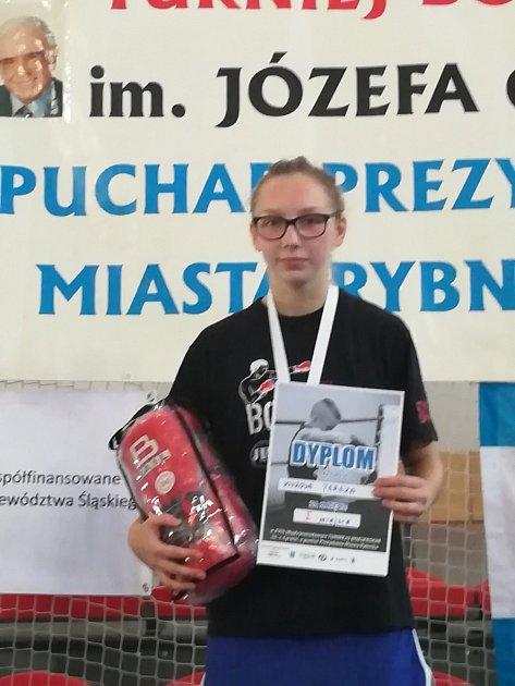 VPolsku už vyhrála jako boxerka.