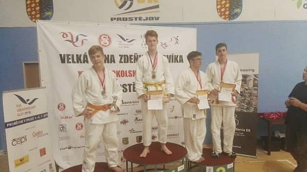 Adam Przybyla vyhrál turnaj v Prostějově.