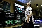 Dominik Solák předvedl v utkání velké vzepětí. Jeho radost na konci zápasu byla oprávněná.