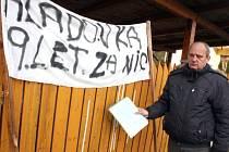 Pavel Barkoci se rozhodl k veřejnému protestu, protože se cítí být českou justicí poškozen. Drží hladovku.