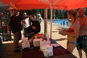 Letní koupaliště v Havířově. Rozšířila se nabídka občerstvení.