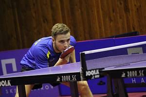 Mladý Radim Bako se snažil, ale v posledních dvou zápasech neuhrál ani bod.
