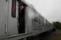 Preventivní protidrogový vlak.