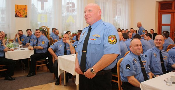 Bilancování roku 2014a ocenění strážníků MP Havířov.