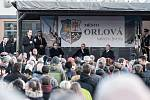 Návštěva prezidenta Miloše Zemana v Orlové.