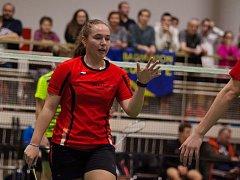 Orlovanka Nela Němcová dosáhla na turnaji skvělého úspěchu spolu s parťačkou Kateřinou Mikelovou.