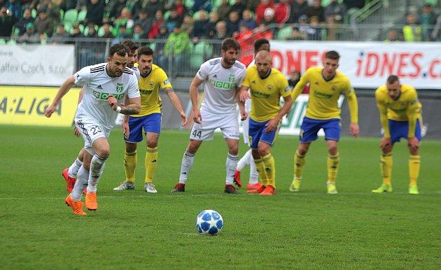 Lukáš Budínský neproměnil penaltu, ale nevadilo to.