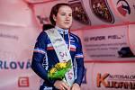 Francouzka Jade Wiel - třetí v orlovské nedělní etapě.