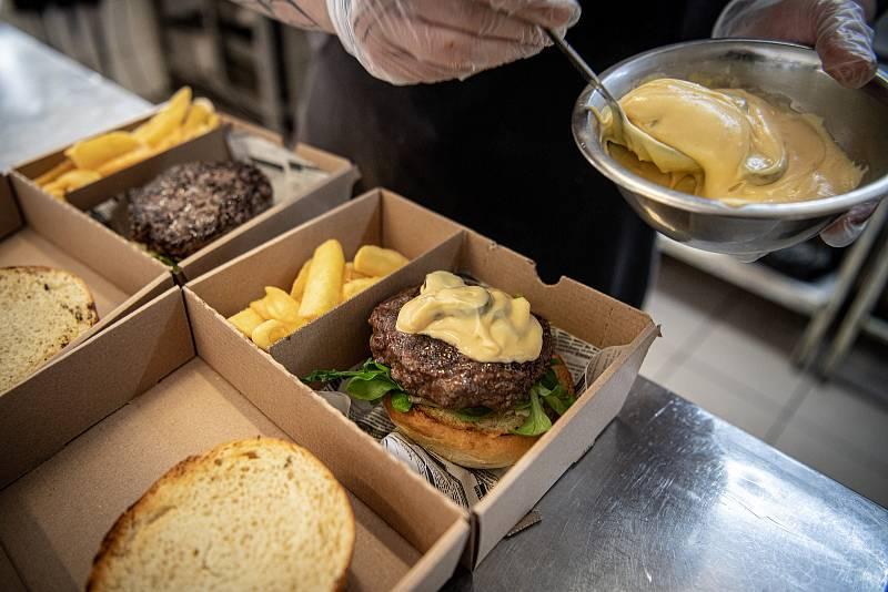 Restaurace U Příborů, 26. března 2021 v Havířově.