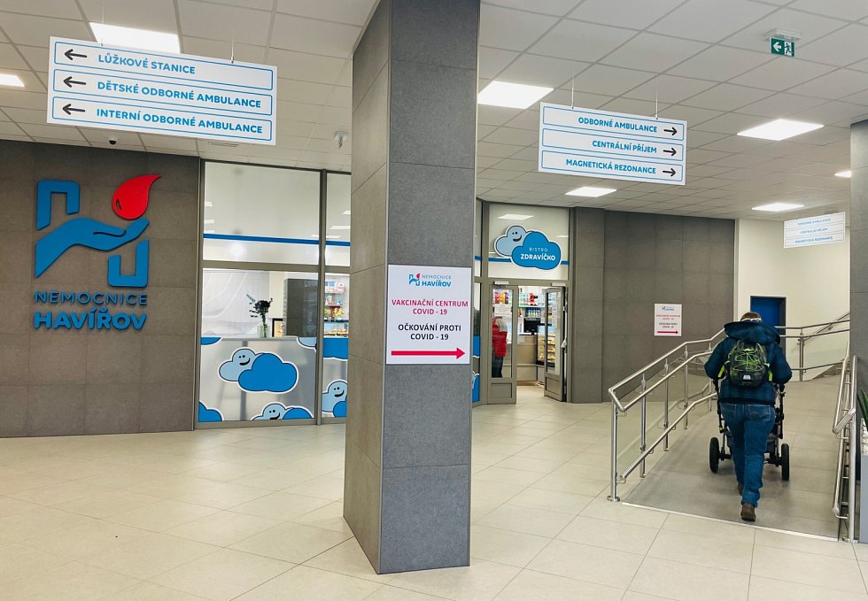 Havířovská nemocnice uvedla do provozu zrekonstruovanou vstupní halu. Investice do její modernizace dosáhla bezmála 7 milionů korun.