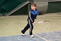 Malí tenisté na havířovském turnaji.