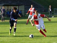 Orlovští fotbalisté prohráli s rezervou Slovácka.