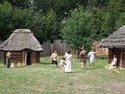 Archeopark v Chotěbuzi.