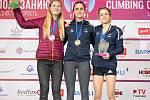 Eliška Adamovská (vlevo) skončila ve Voroněži druhá.
