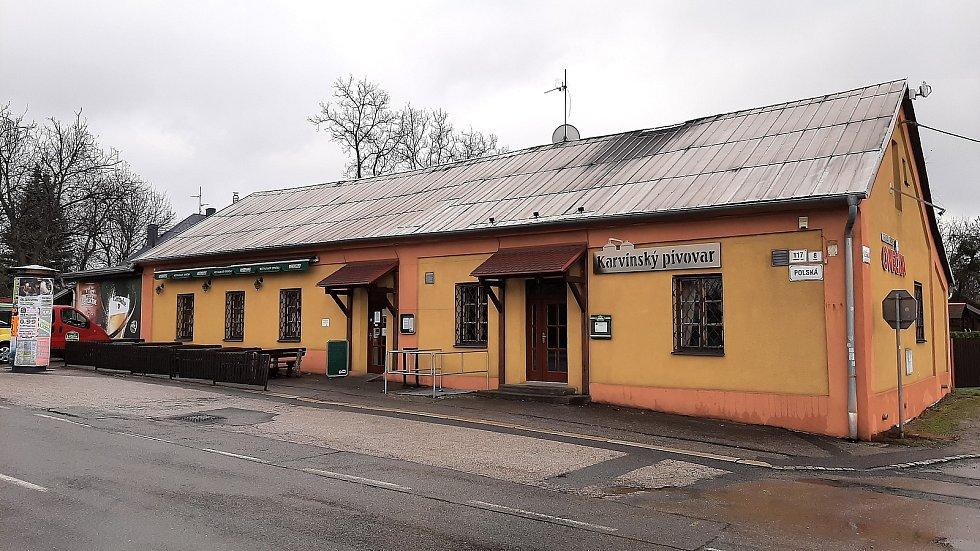 Restaurace Ovečka a Karvinský pivovar v Karviné-Ráji.