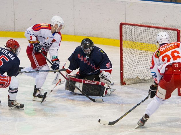 Hokejisté Karviné nestačili podle předpokladů na Porubu.