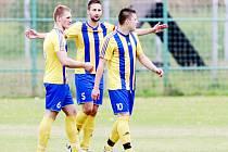 Na Dominiku Palejovi (vlevo) chce trenér Bohumína Marek Poštulka stavět.