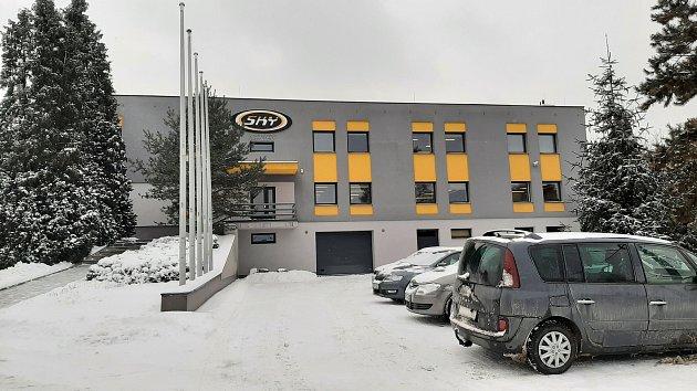 Sídlo firmy SKY paragliders vAlbrechticích.