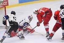 Hokejisté Havířova nechali na Horácku důležité body.