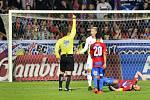 Filip Panák obdržel v nastavení zbytečnou červenou kartu.
