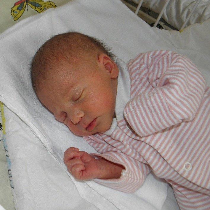 Mamince Evě Hila z Rychvaldu se 13. listopadu narodila dcerka Viktoria. Po porodu holčička vážila 2430 g a měřila 46 cm.