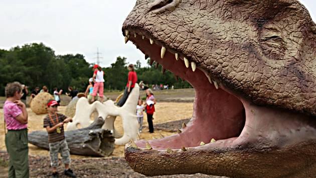 Dinopark v Doubravě