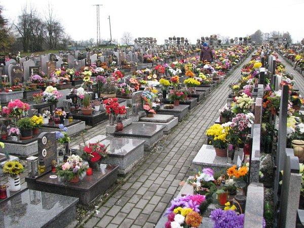 Havířovský hřbitov.