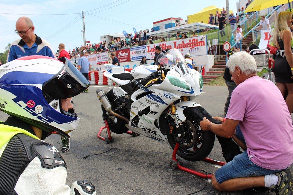 Mezinárodní motocyklové závody Havířovský zlatý kahanec 2018.