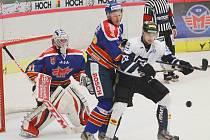 Havířov (bílé dresy) uspěl v Českých Budějovicích.