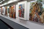 Výstava Unplugged, jejímž autorem je britský umělec David John Lloyd.