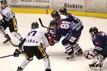 Havířovští hokejisté (v bílém) hladce porazili Benátky.