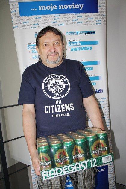 Jaroslav Sajdak vyhrál další kolo TIP ligy.