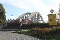 Karviná-Darkov. Most Sokolovských hrdinů (Darkovský most).