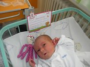 Julie Grussmannová se narodila 5. května paní Markétě Grussmannové z Frýdku Místku. Porodní váha miminka byla 2600 g a míra 47 cm.