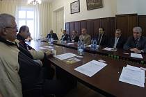 Zástupci Havířova a Mukačeva při jednání o spolupráci měst.