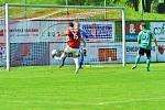 O vyrovnávací gól Třince se postaral na zadní tyči nehlídaný Miroslav Ceplák.