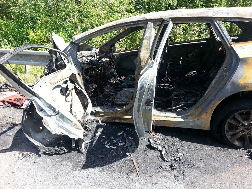 Nehoda v Karviné-Darkově.
