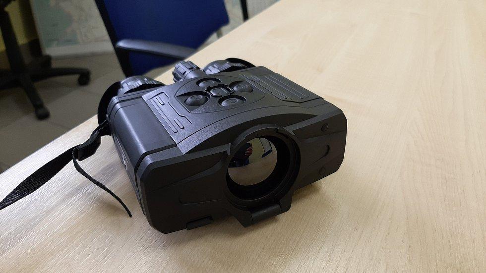 Havířovští strážníci mohou nově využívat osm moderních termovizí.