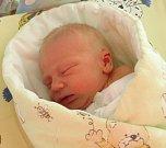 Tomášek Kočenda se narodil 20. dubna paní Petře Šímové z Orlové. Porodní váha chlapečka byla 3210 g a míra 47 cm.