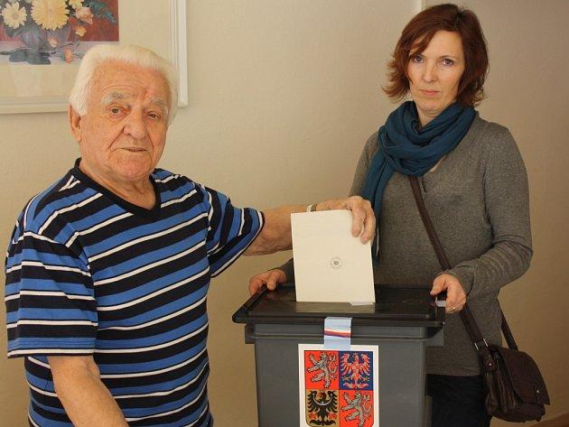 Prezidentské volby v Havířově.