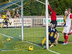 Orlovští fotbalisté podlehli v Krnově domácí Opavě.