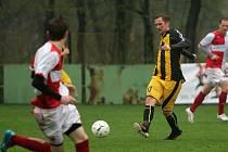 Lukáš Mendrok měl největší šanci zápasu.